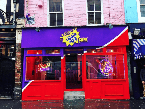 Cadbury Creme Egg Cafe. Image courtesy of Certified Nosh