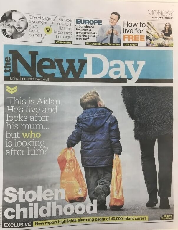 The New Day is the first new national newspaper for more than 30 years.