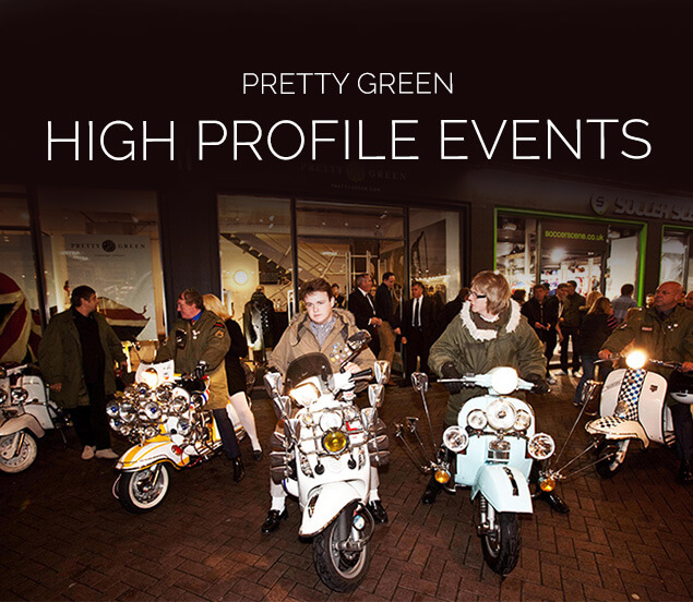 Pretty Green, Event Management PR, Fashion and Beauty PR