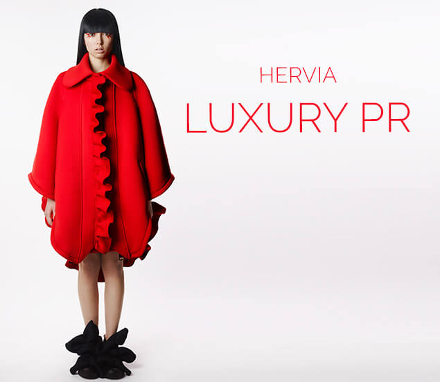 Hervia, Luxury Fashion and Beauty PR