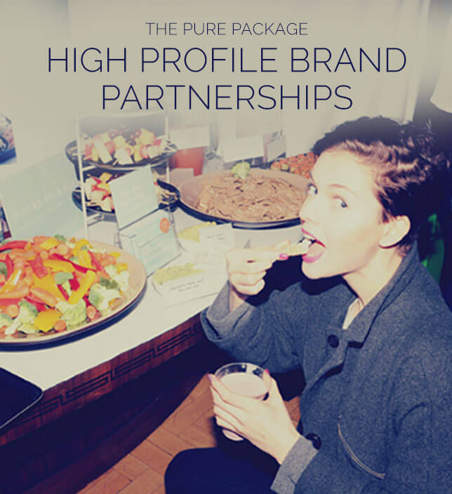 The Pure Package, Brand Partnership PR, PHA media