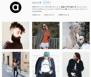 Asos Instagram Feed