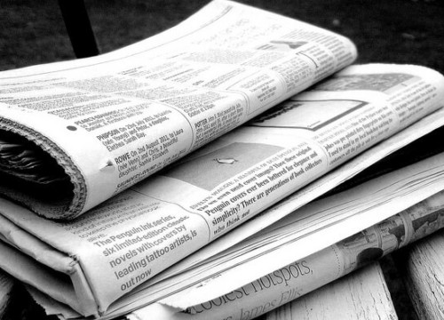 Newspapers, Broadsheet, Report
