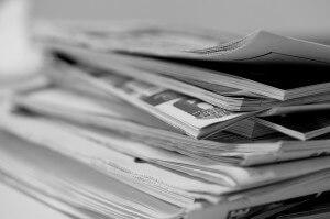 Newspapers, media agenda