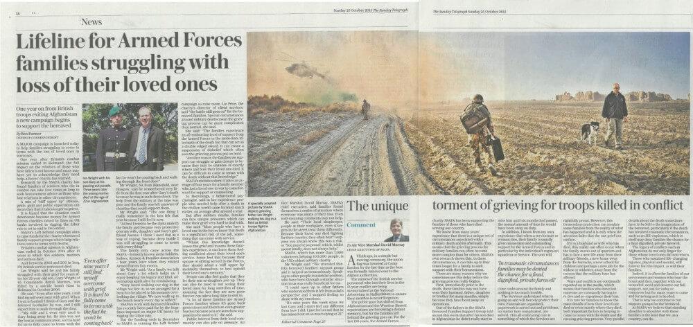 Sunday Telegraph, SSAFA