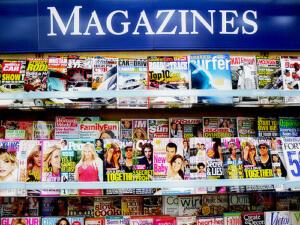 Magazines, media distribution