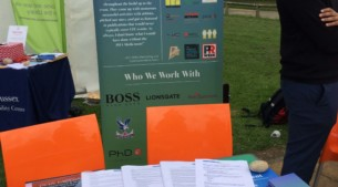 PHA Media's stand at The University of Sussex's Mini Careers Fair was filled with take away material on work opportunities and career advice.
