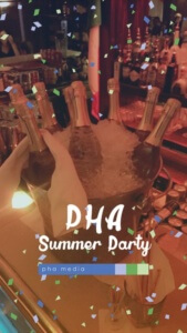 PHA Summer Party Snapchat Filter