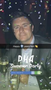 PHA Summer Party Snapchat Filter