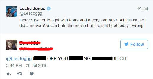 Leslie Jones Twitter abuse