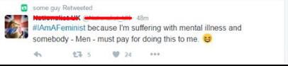 Feminist Trolls Twitter