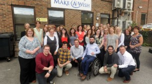 Make A Wish staff on the 30th anniversary