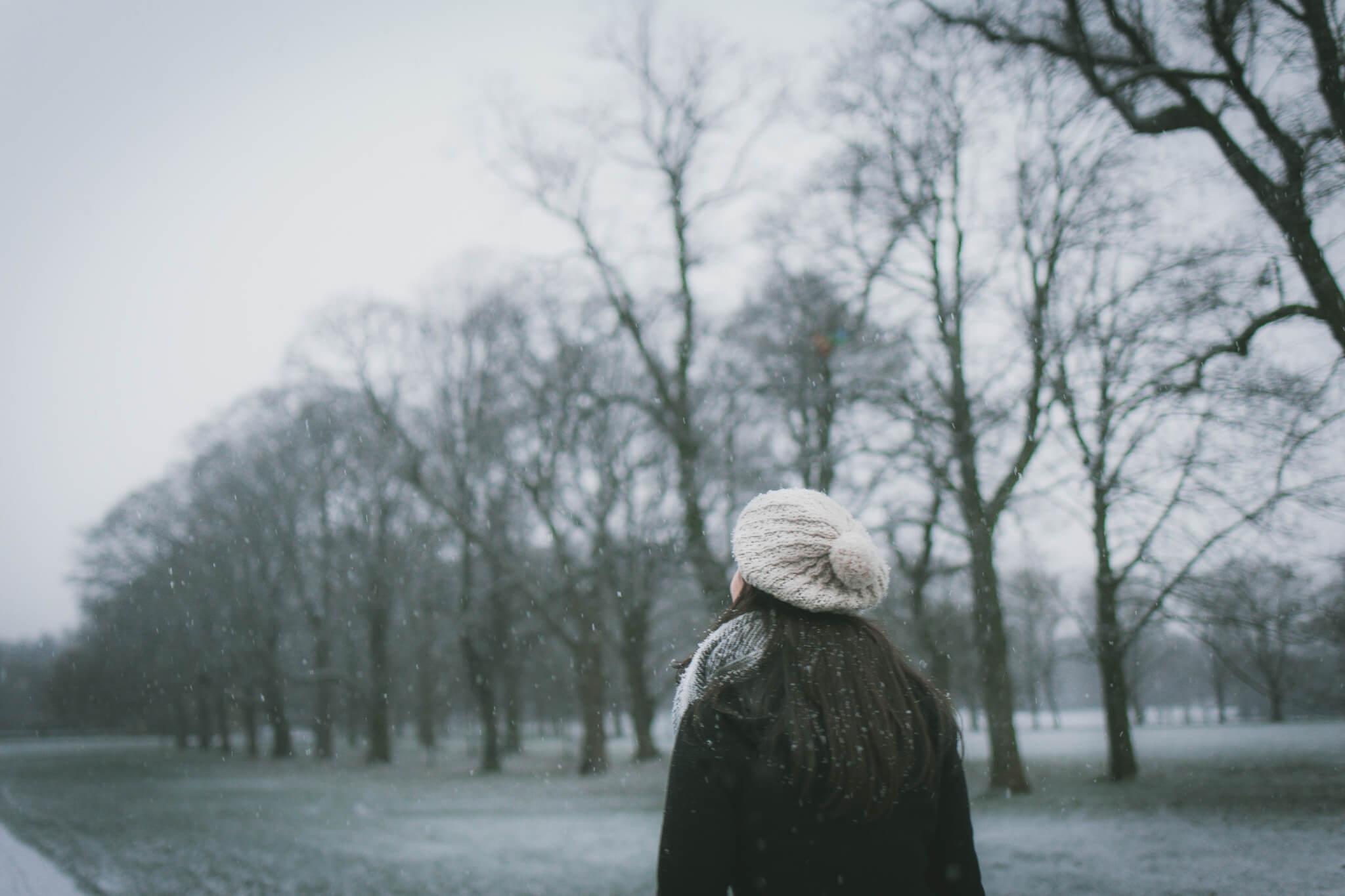 Winter, flu jab