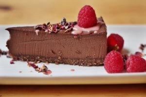 Chocolate tart, health, fitness, reclaim your lunch break, wild food cafe
