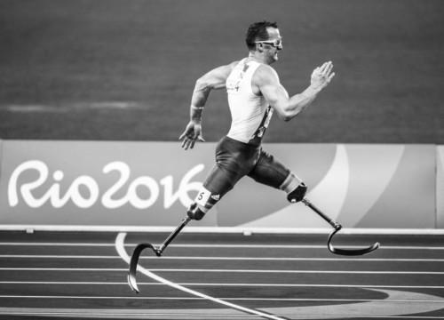Running Man - Paralympics Sport