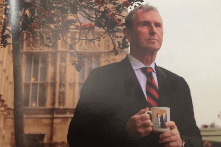 Nigel Evans MP Christmas card