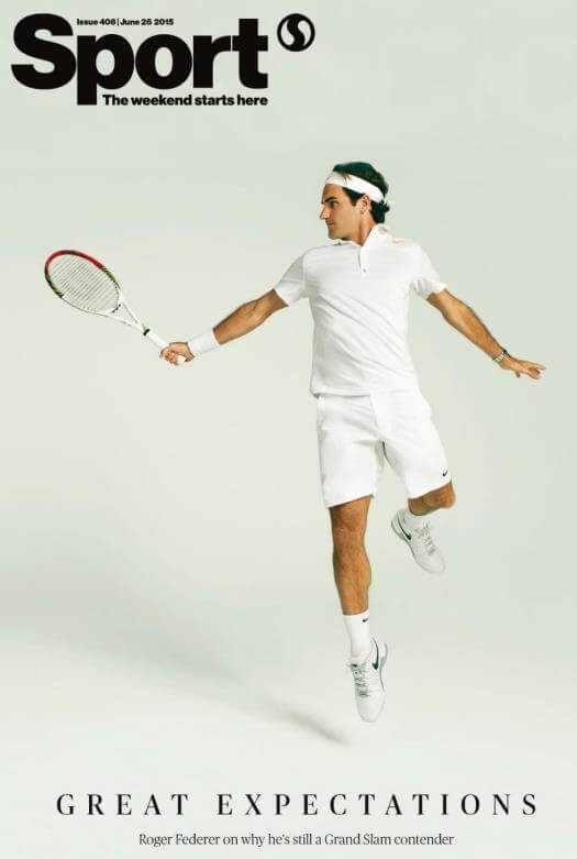 Sport Roger Federer - Holly Hale pick