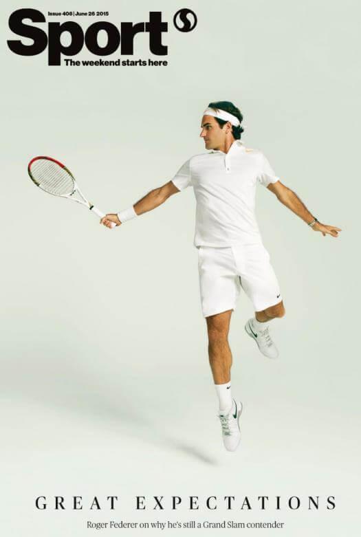 Sport Roger Federer - Holly Hale pick