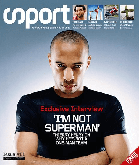Sport Thierry Henry - Tom Inskip pick
