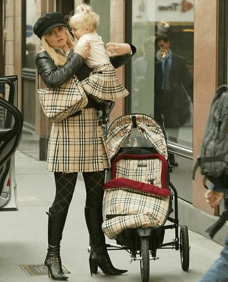 Daniella Westbrooke Baby Chav Burberry Clothes Fake Designer