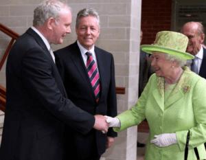 Martin McGuinness Queen Elizabeth