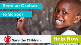 Save The children Charity PHA Media Collection Tin