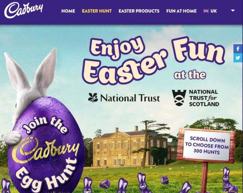 National Trust Easter Egg Hunt