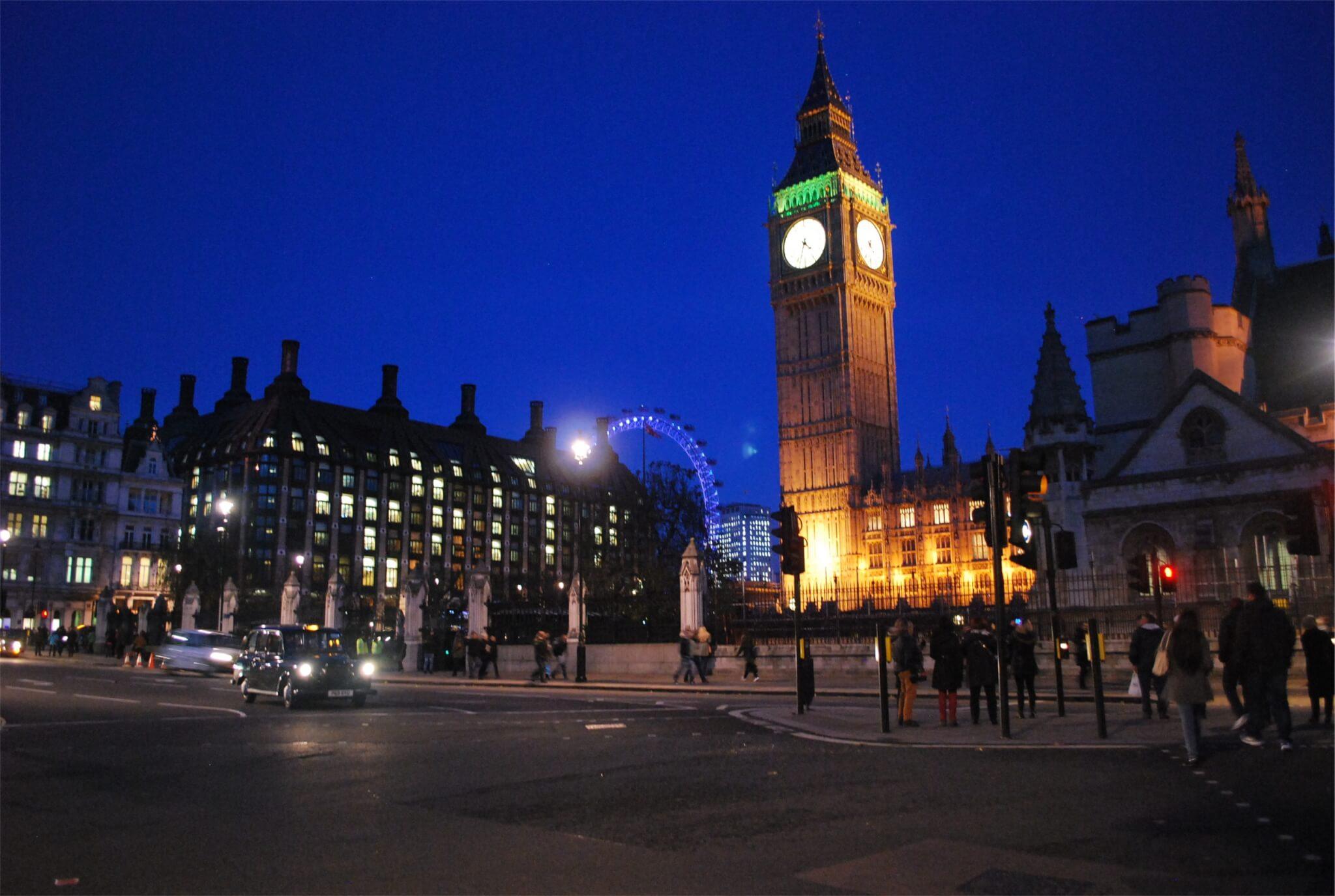 London Big Ben night