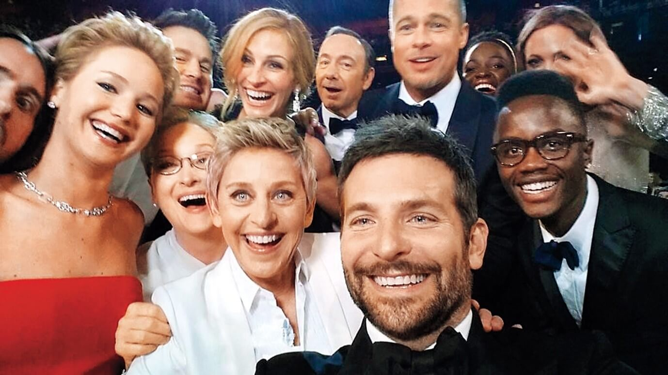 Taken by Bradley Cooper 86th Annual Academy Awards. March 2, 2014