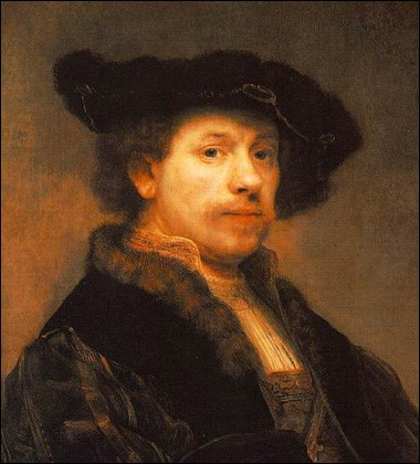 Rembrandt, Self-Portrait - 1640.