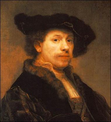 Rembrandt, Self-Portrait - 1640.