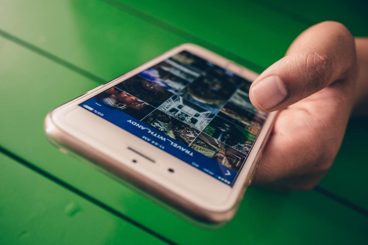 Social Media Digital Facebook