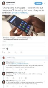 Twitter smartphone mortgage