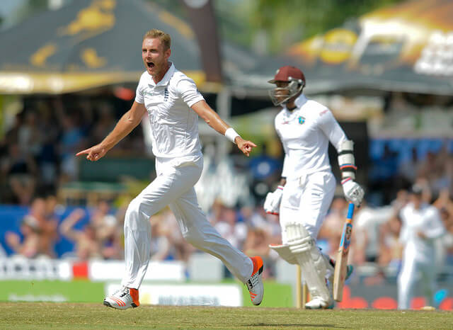 Stuart Broad Windies Cricket