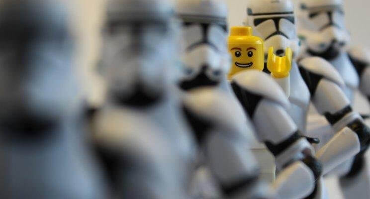 Be different LEGO