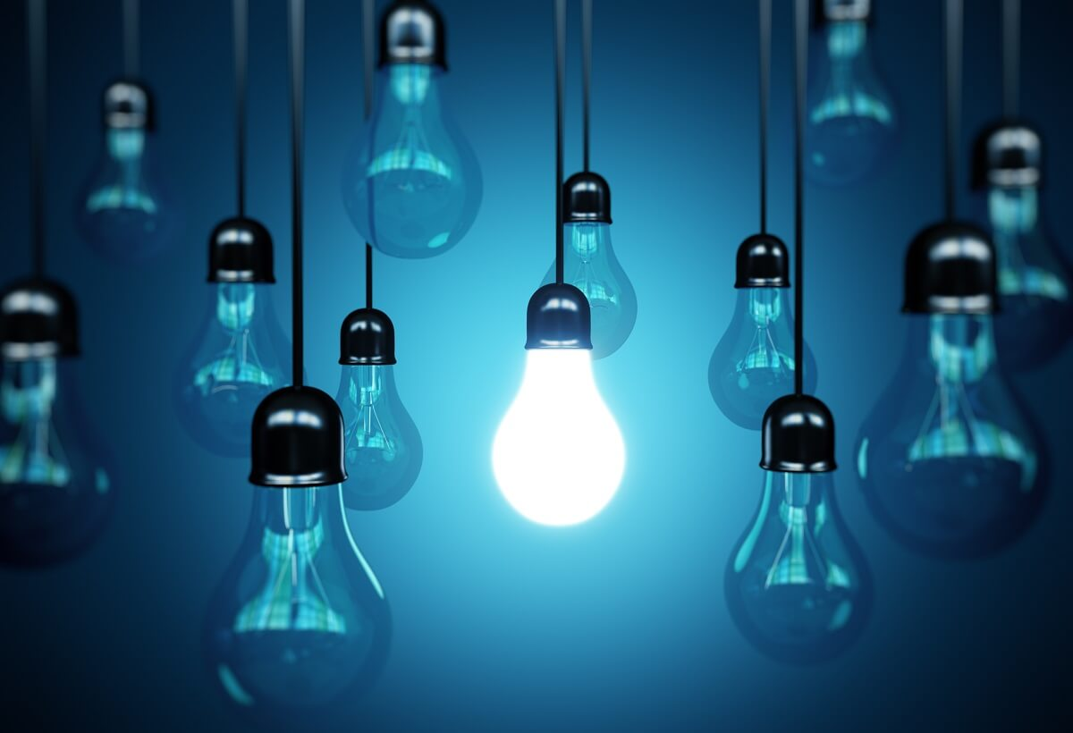 Image result for stand out light bulb