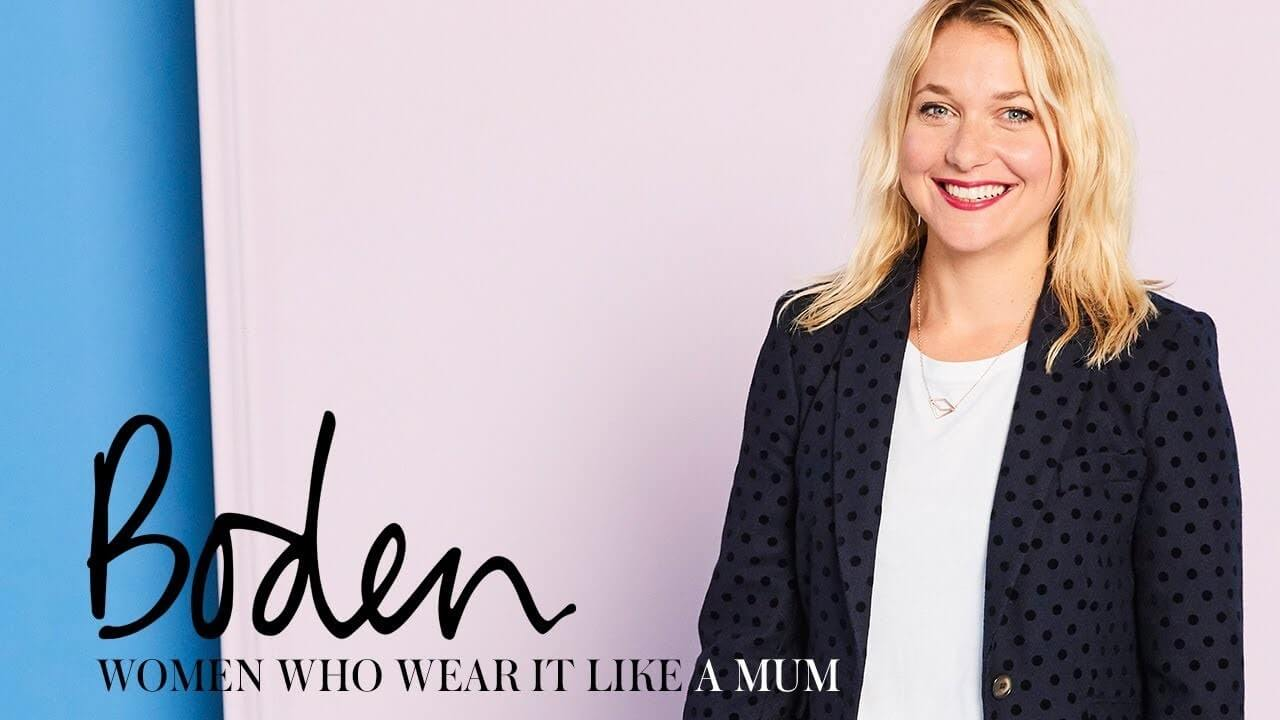 Boden women who wear it like a mum campaign