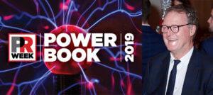 Phil Hall named in PR Week's Power Book 2019