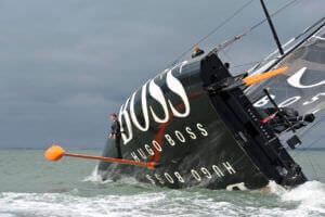 Alex Thomson & HUGO BOSS - Mastwalk