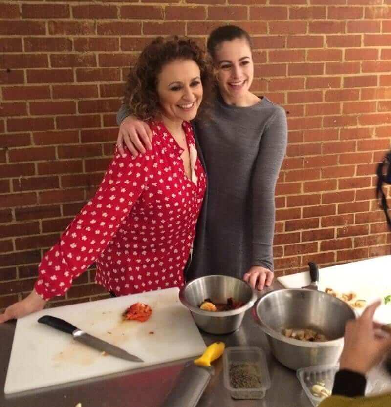 Nadia Sawalha 'Cutting edge masterclass'