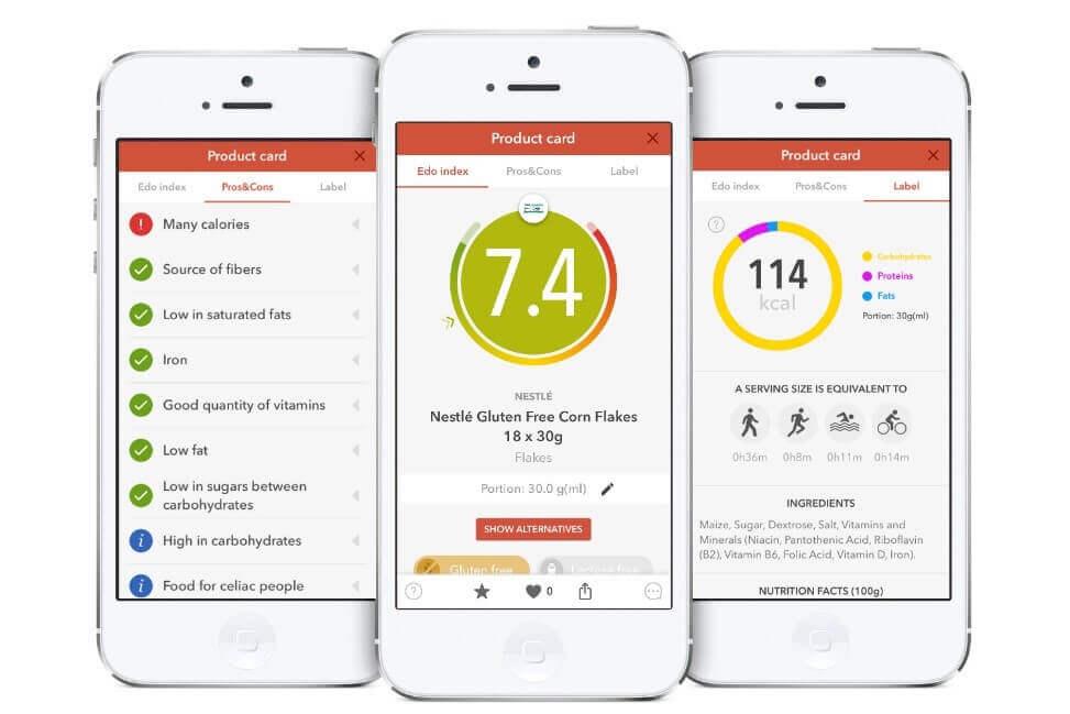 revolutionary food and nutrition app, EDO