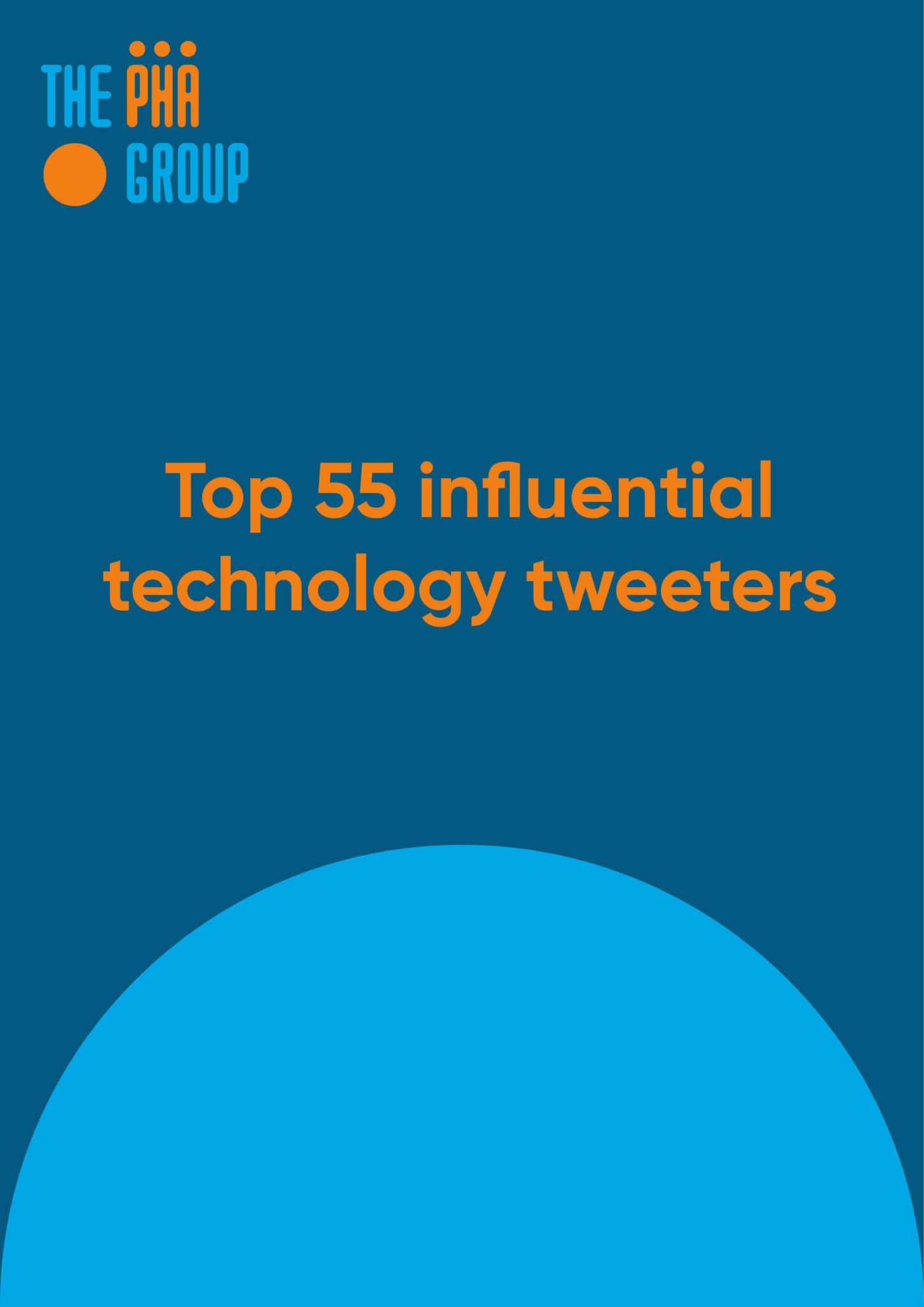 Top 55 influential tech tweeters