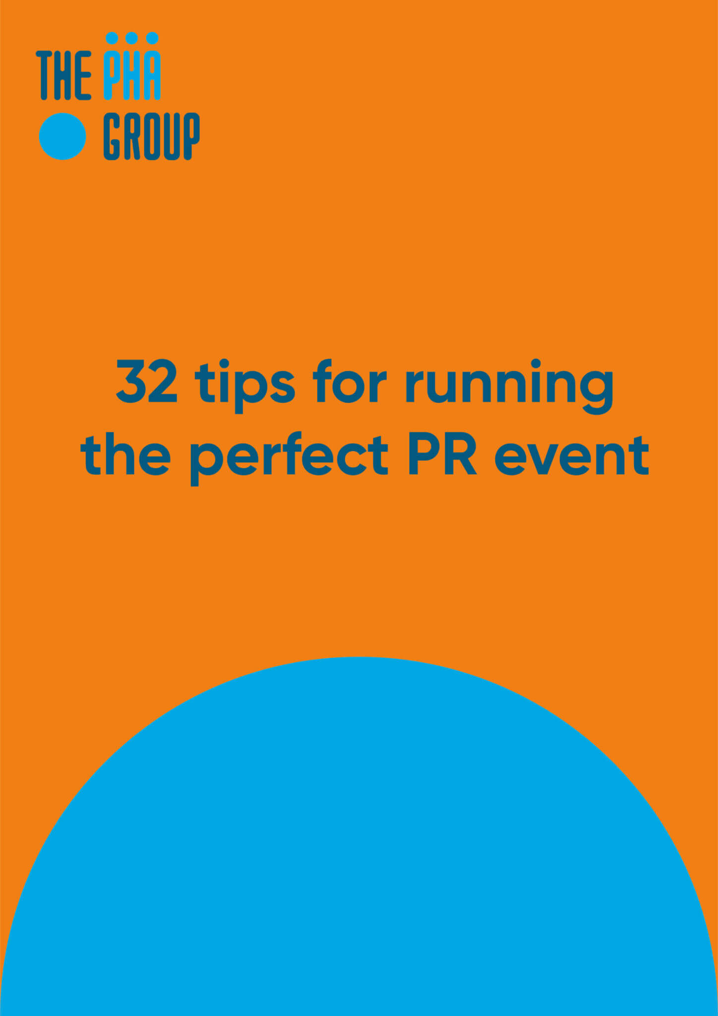 32 tips for running the perfect PR event