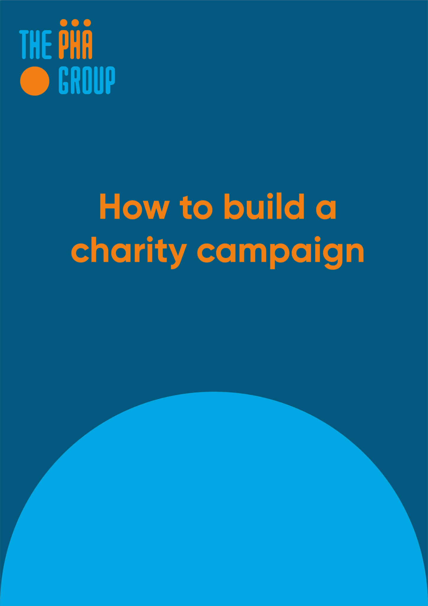How to build a charity campaign