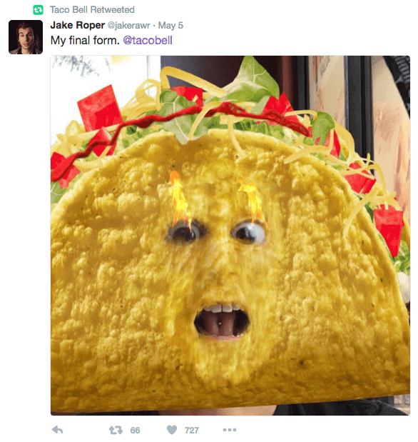 Taco Bell Snapchat Twitter