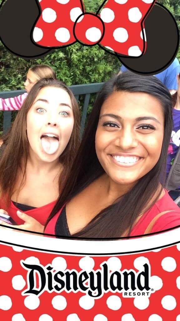 Disneyland Snapchat