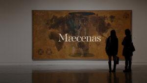 Maecenas - viewing an art exhibition