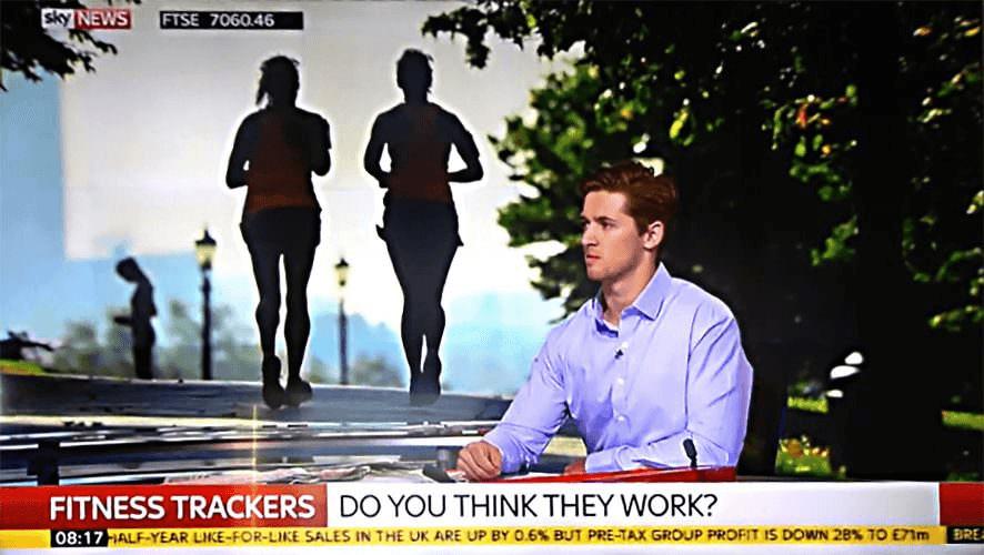 Fitness tracker sky news