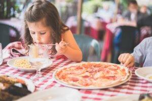 Children friendly restaurants