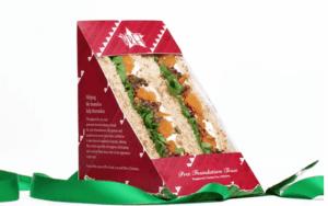 Pret Christmas sandwich